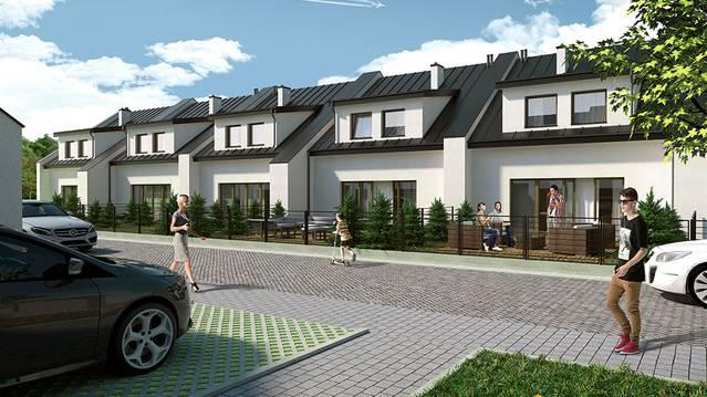 Niesamowite Osiedle Iglasta - domy od AR Group Sp.J. - Łódź, Widzew, Mileszki OK22