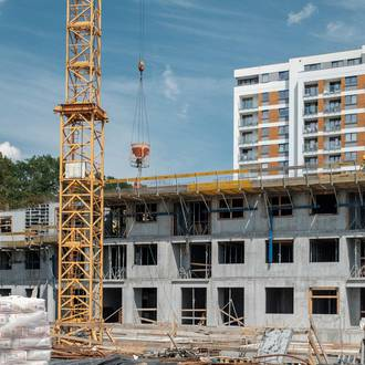 Drugie piętro budynku C Red Park już wykonane