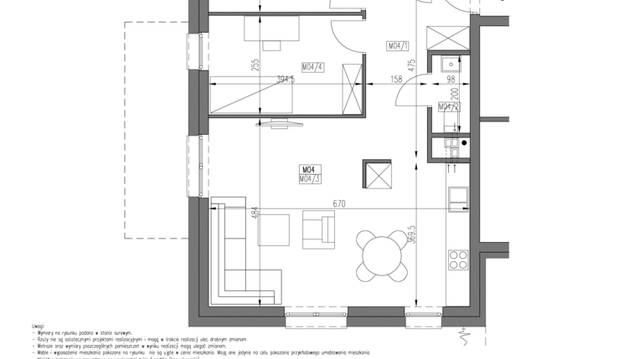 0746e95e245379 Mieszkanie w Osiedle Grafitowe IV etap - 3 pokoje, 66,1 m2, 1 piętro,
