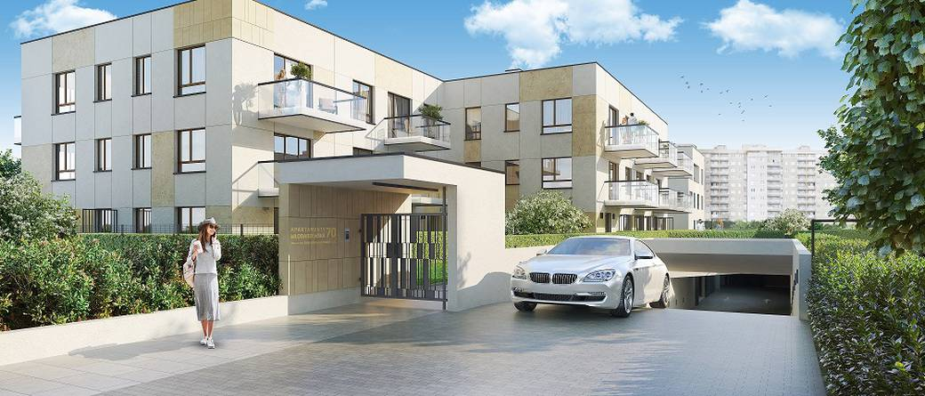 Dom Development rozpoczął sprzedaż Apartamentów Włodarzewska 70
