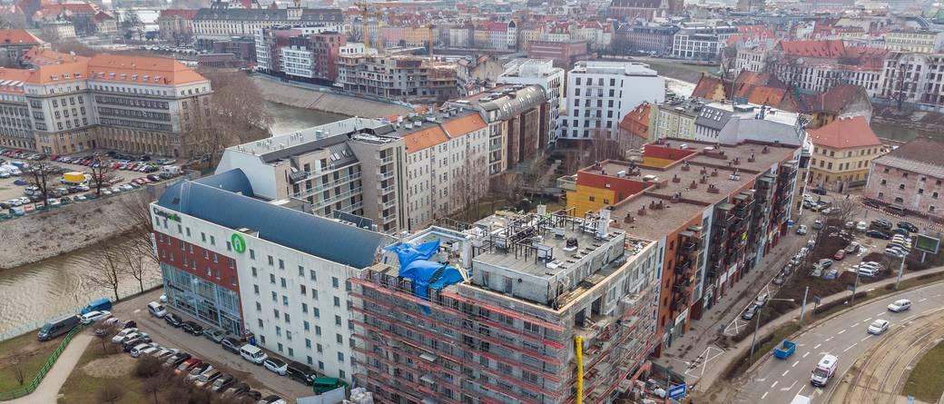 Budowa Jagiełły 6 na ostatniej prostej