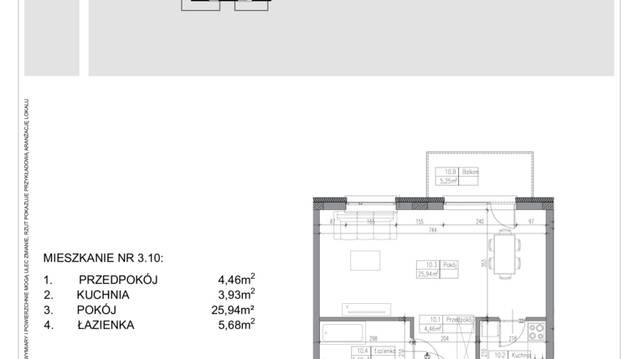 Mieszkanie W Rezydencja Ząbki 1 Pokoje 399 M2 1 Piętro