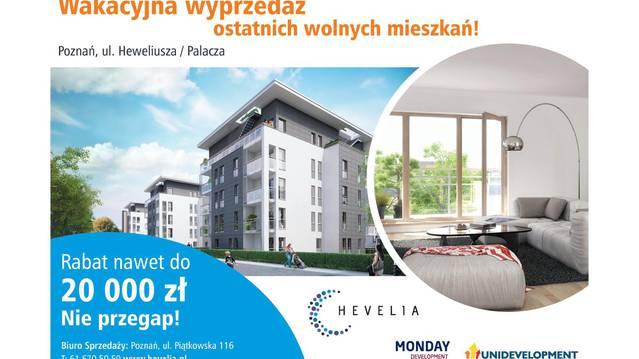 Modernistyczne Hevelia - mieszkania od Monday Development S.A. - Poznań, Grunwald HX46