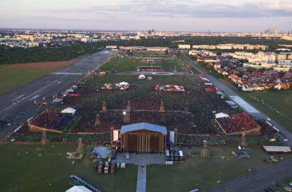 Koncert Madonny, Lotnisko Bemowo