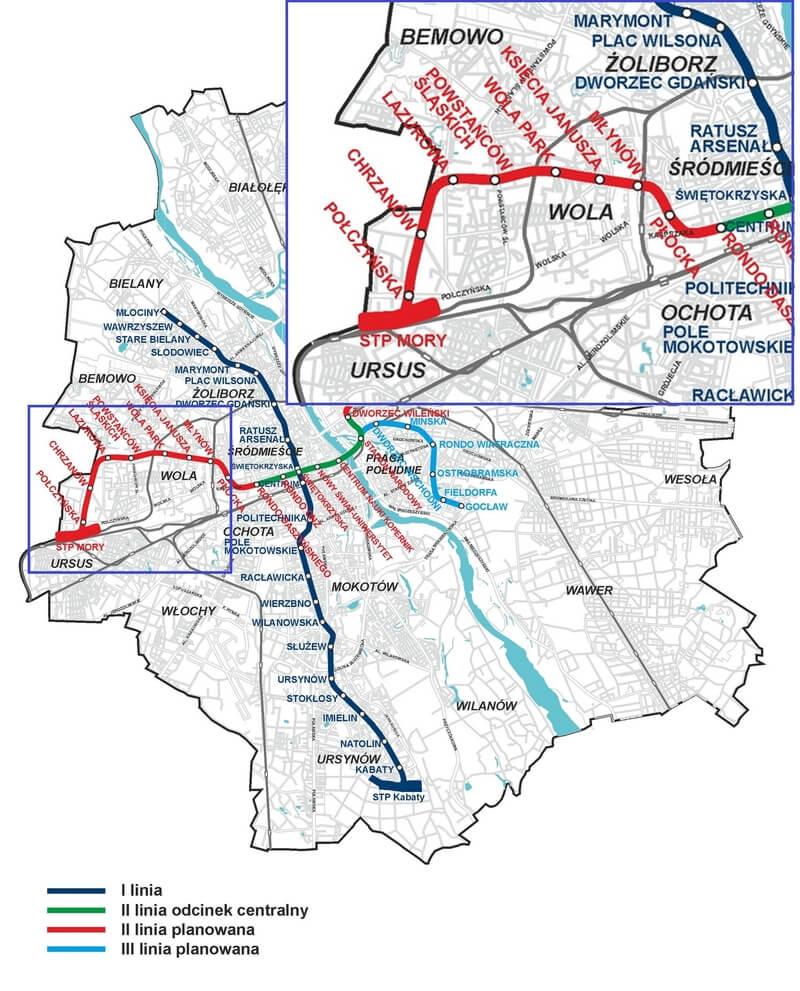 Rozbudowa II linii metra na Bemowo